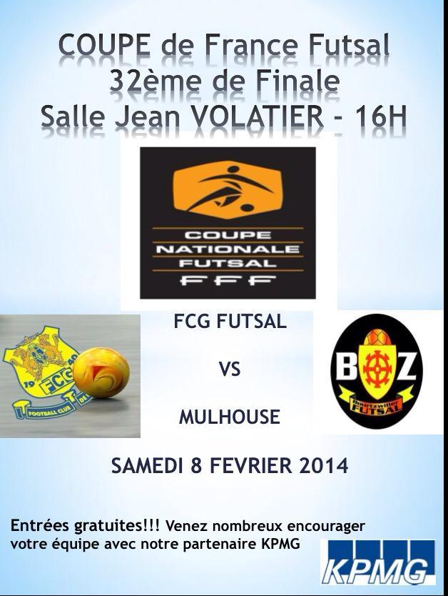 affiche FCG Mulhouse 32è
