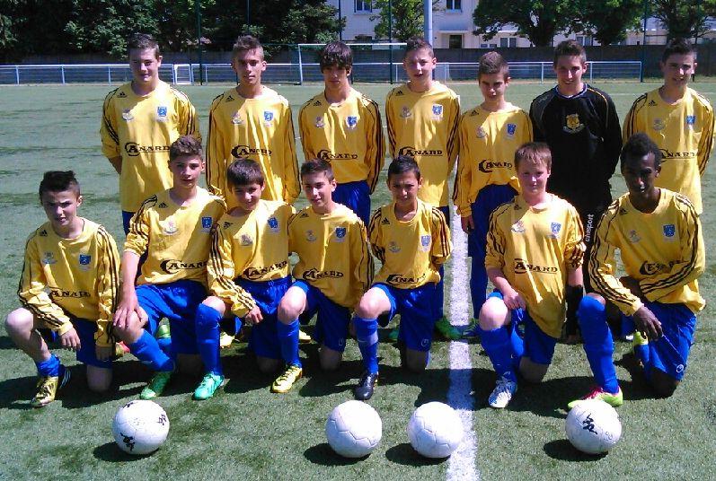 U14 à Dijon