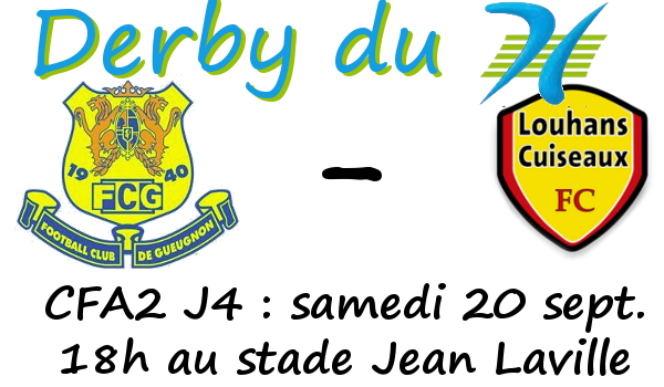 Louhans Cuieaux Derby Saone et Loire Gueugnon