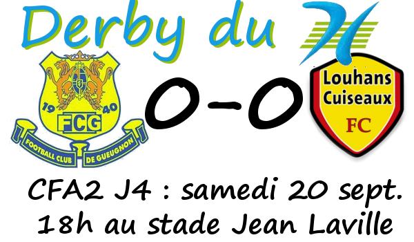 Louhans Gueugnon derby foot