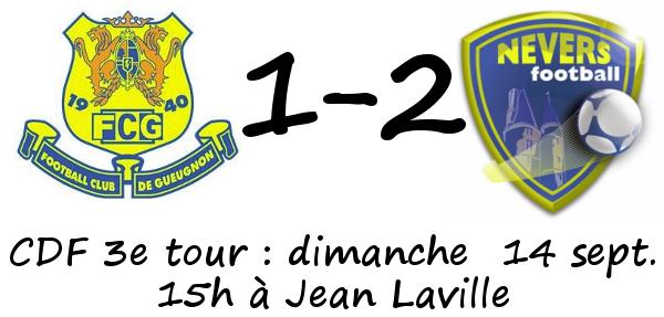 Nevers Gueugnon Coupe de France