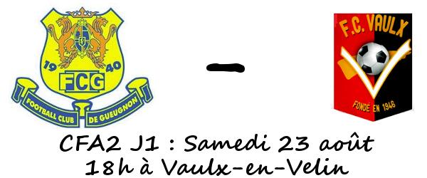 Vaulx en Velin Foot Gueugnon