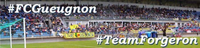 Hashtag #FCGueugnon #TeamForgeron