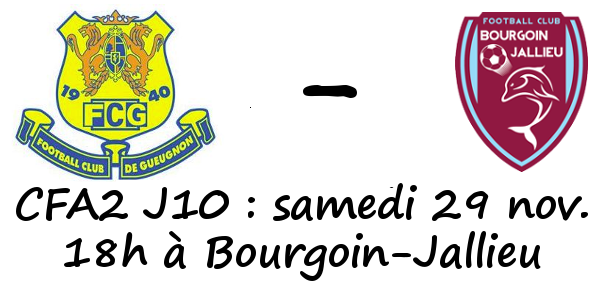 Bourgoin-Jallieu Foot Gueugnon Logo