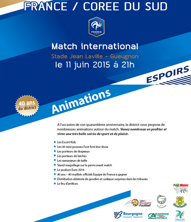 Animations EDF Espoirs