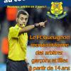 Clement Turpin Recrutement Arbitre FC Gueugnon Saone et Loire Bourgogne