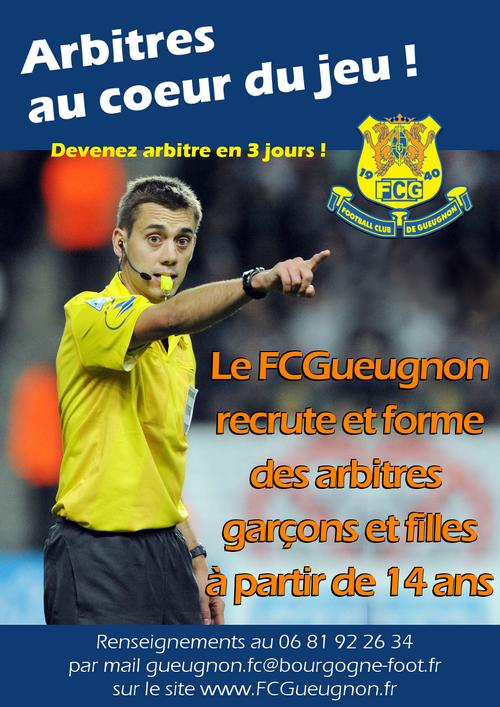 Clement-Turpin-Recrutement-Arbitre-FC-Gueugnon-Saone-et-Loire-Bourgogne