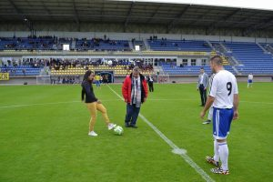 Sandrine BRETIGNY Bruno ALVES Stade Jean Laville Gueugnon