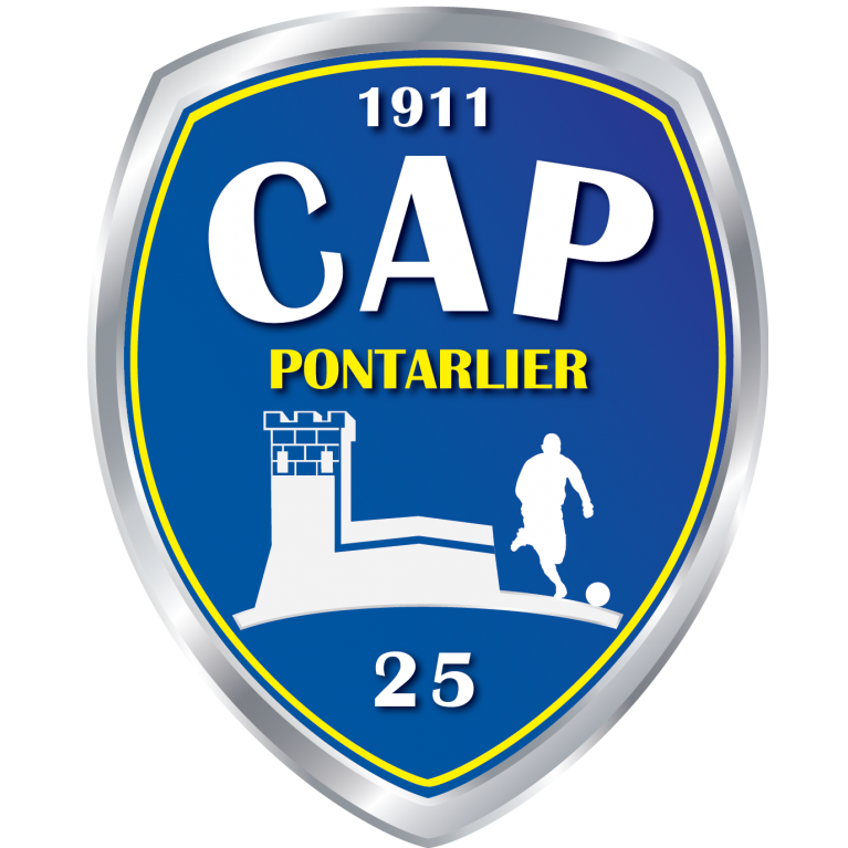 logo officiel cap pontarlier foot