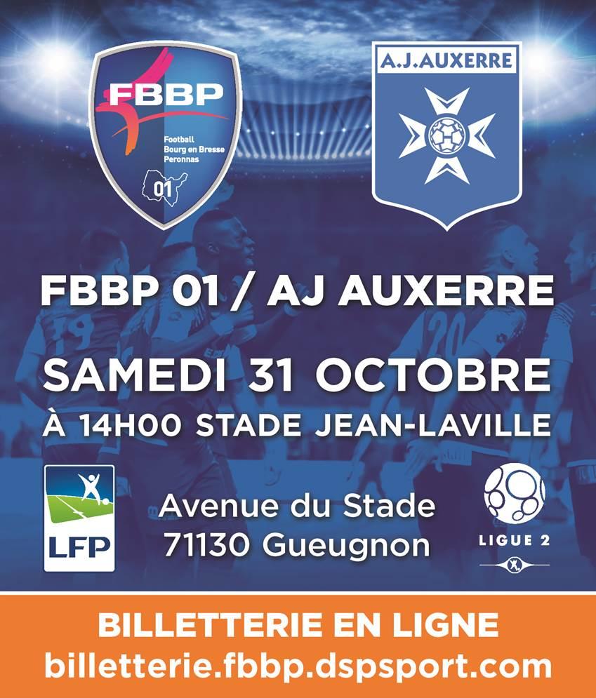 FBBP 01 Bourg AJ Auxerre AJA stade Jean Laville
