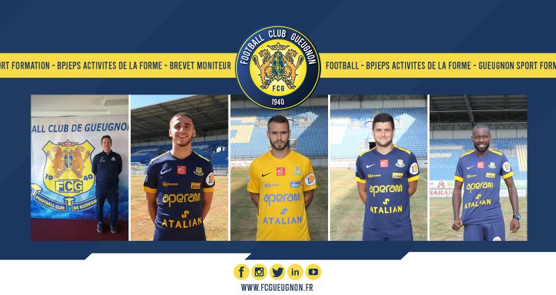 [Gueugnon Sport Formation] 5 membres du FC Gueugnon diplômés !