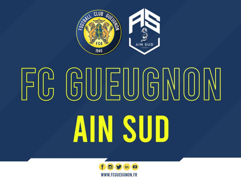 [Amical] Samedi 01/08 à 20h00: Le FC Gueugnon reçoit Ain Sud à Jean Laville