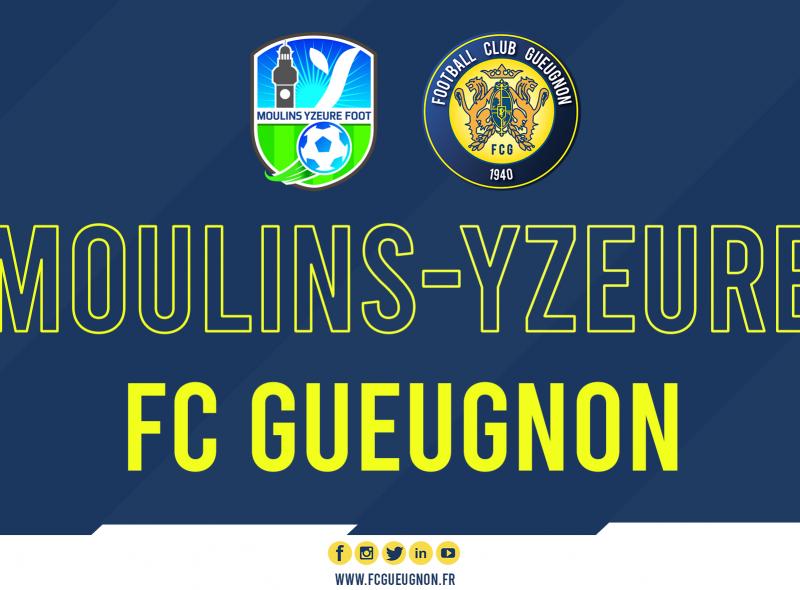 [#PrépaFCG] Déplacement à Moulins Yzeure Foot pour le FC Gueugnon