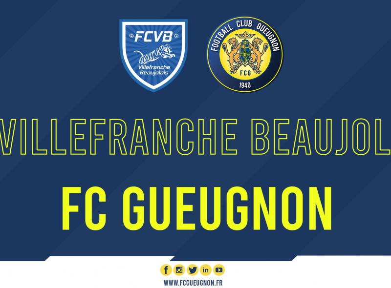 [#PrépaFCG] Le FC Gueugnon affronte les caladois à Meyzieu