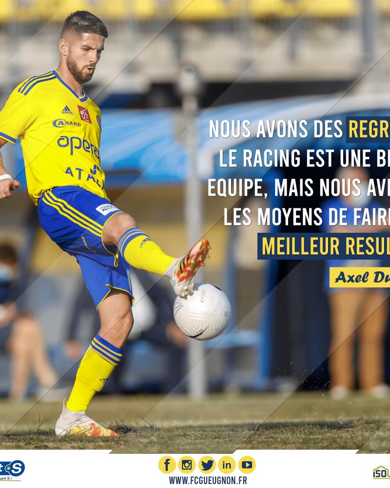 [N3 J04] Racing Besançon – FC Gueugnon : Réactions