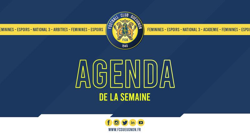 [Agenda] Semaine du 14 au 20 Septembre 2020