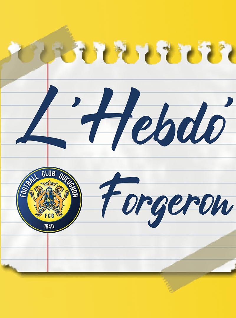 [Partenaires] L'Hebdo Forgeron #15
