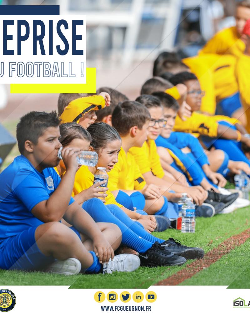 [Communiqué] Les jeunes de l'Académie peuvent reprendre le football !