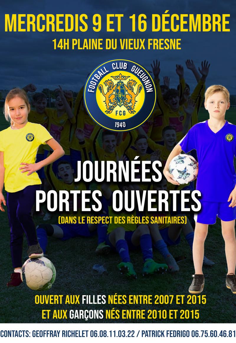 [Académie] Le FC Gueugnon ouvre les portes de son École de Football !