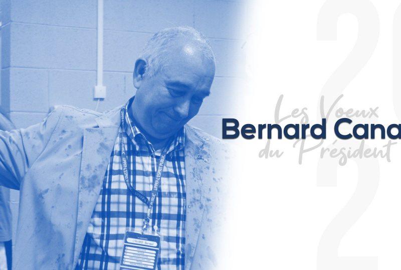 [Interview] Les vœux du Président Bernard Canard (+ Vidéo)