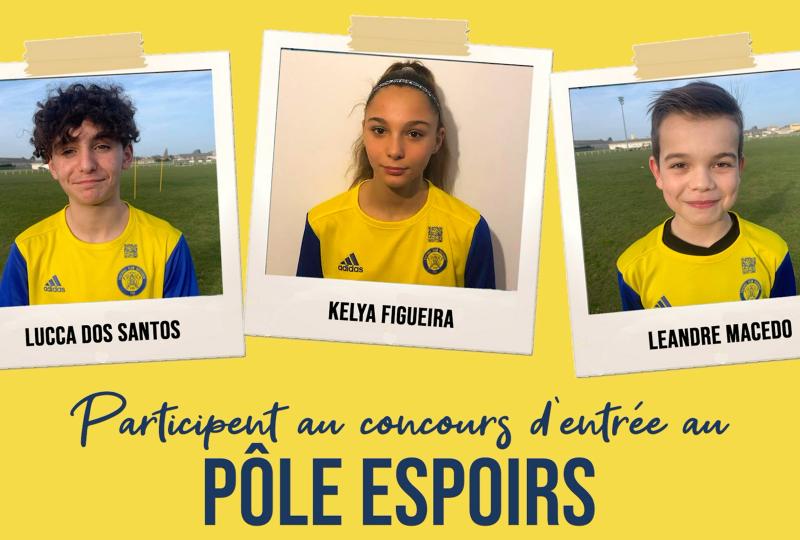 [Académie] 3 forgerons participent au concours d'entrée au Pôle Espoirs !