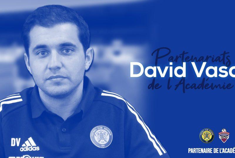 [YouTube] Les partenariats avec l'Académie du FC Gueugnon | David Vasco
