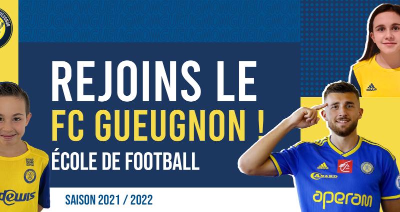 [Académie] Pré-inscriptions à l'École de Football pour la saison 2021-2022