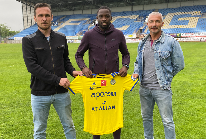 [Mercato] Jason Luanda, un attaquant expérimenté a signé !