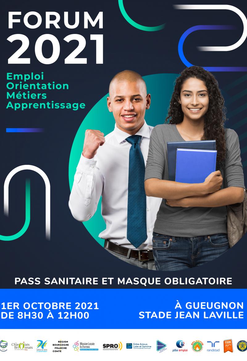 [FEOMA 2021] 6e édition du Forum de l'Emploi, le 1er Octobre à Jean Laville!