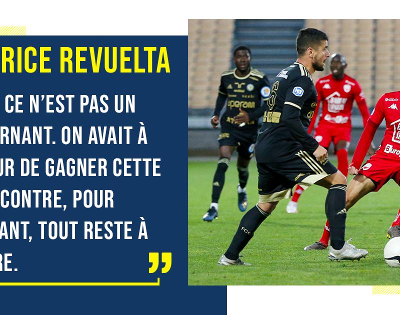 [N3 J06] Racing Besançon – FC Gueugnon : Réactions